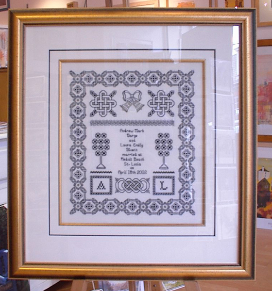 Arte specialist picture framing framing any kind of needle art be it needlepoint tapestry cross stitch or black work requires a special set of skills we have been framing all manor of solutioingenieria Image collections
