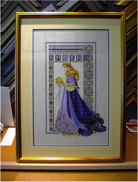 Arte specialist picture framing framing any kind of needle art be it needlepoint tapestry cross stitch or black work requires a special set of skills we have been framing all manor of solutioingenieria Choice Image